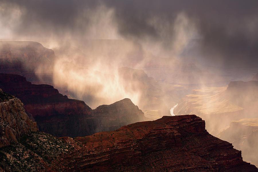 Arizona Photograph - Rain Ghost by Adam Schallau