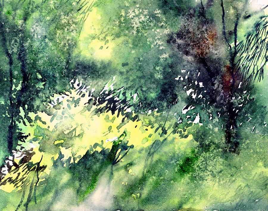 Rain Gloss Painting by Anil Nene
