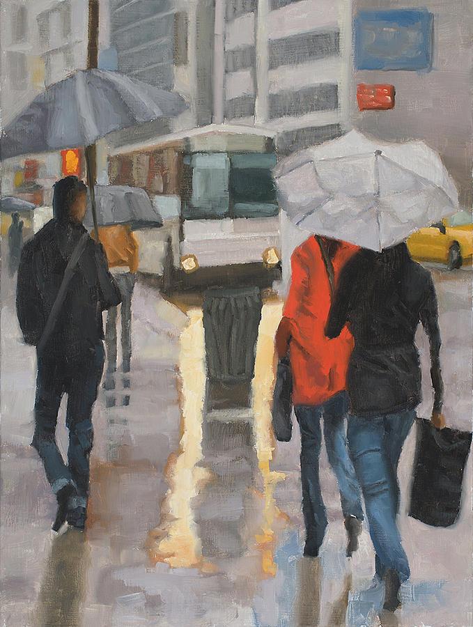 Rain in midtown by Tate Hamilton