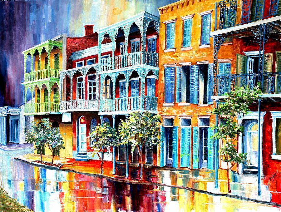 Rain in Old New Orleans by Diane Millsap