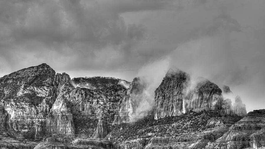 Rain in Sedona by Robert Melvin
