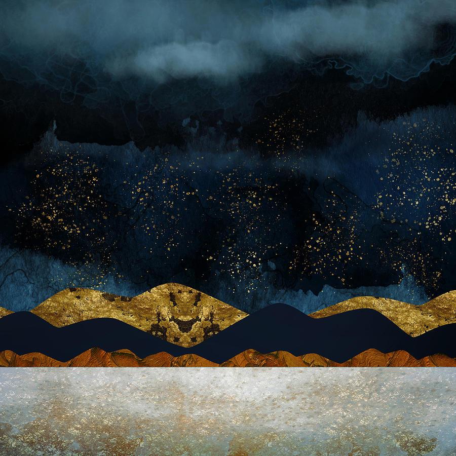 Rain Digital Art - Rain by Katherine Smit