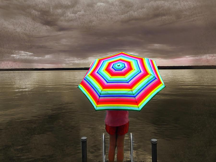 Rain Photograph - Rain Rain Go Away by Phillip W Strunk
