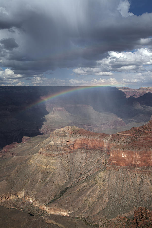 Rain Squall Over the Grand Canyon by Rick Pisio