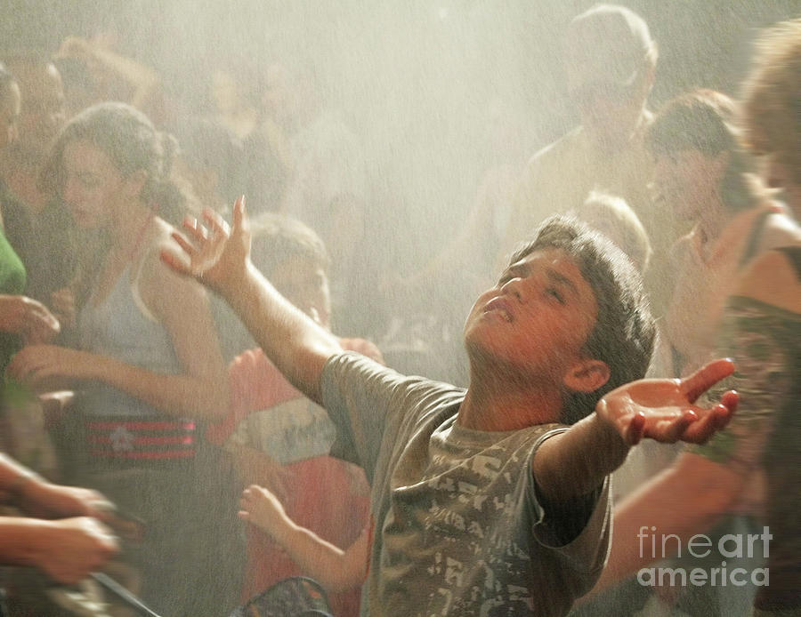 Blessing Photograph - Rain by Stas Krupetsky