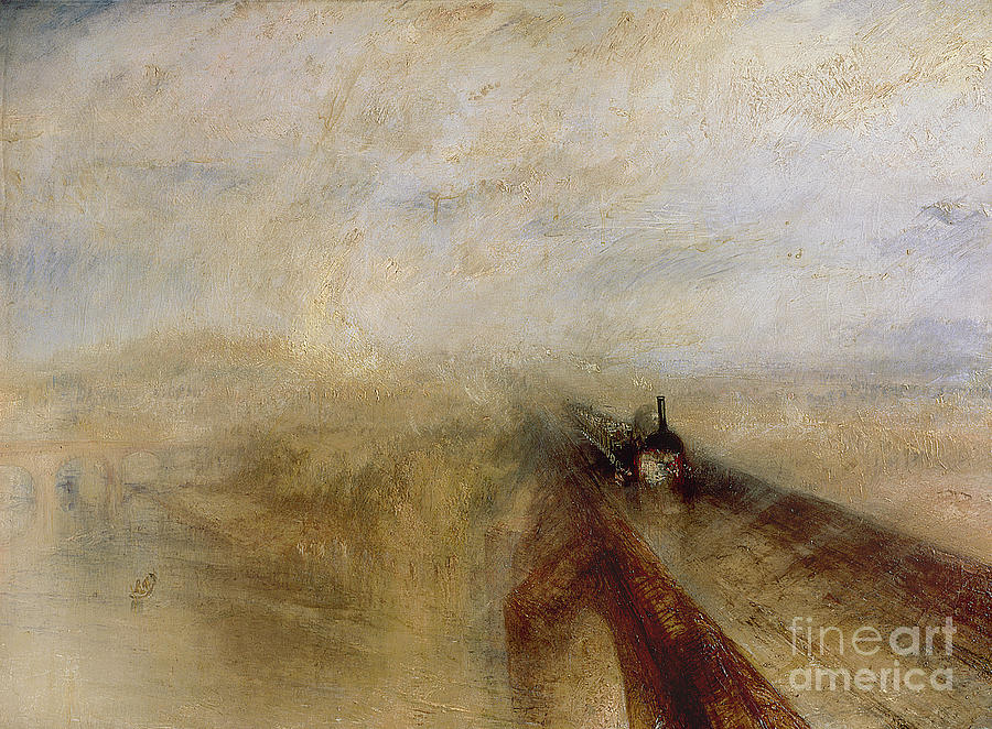 Rain Painting - Rain Steam And Speed by Joseph Mallord William Turner