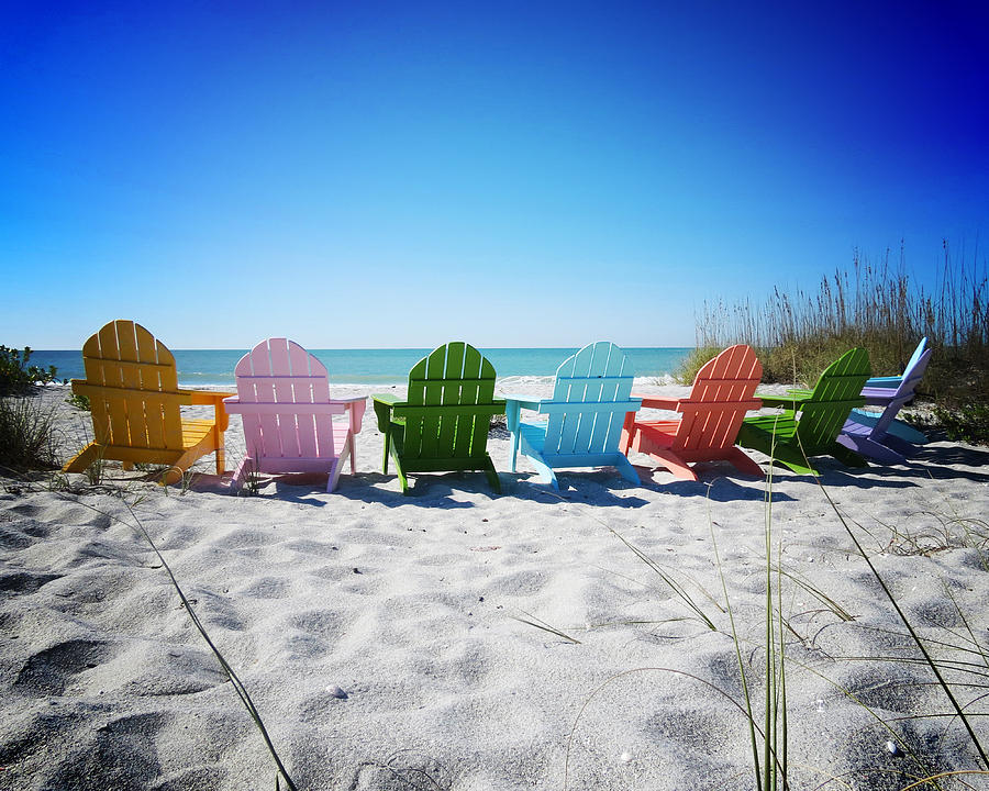 Florida Photograph - Rainbow Beach Vanilla Pop by Chris Andruskiewicz