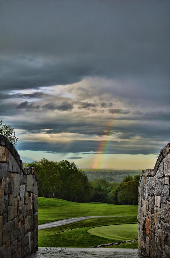Rainbow Photograph - Rainbow Bridge by ChelleAnne Paradis