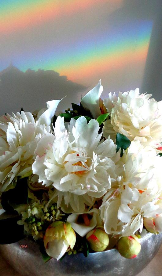 Rainbow Buds n' Blooms One by VIVA Anderson
