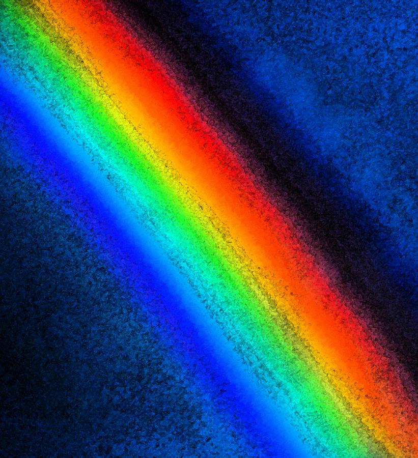 цветовая радуга картинка самое