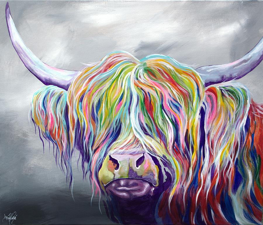 Rainbow Coo Painting By Aaron De La Haye