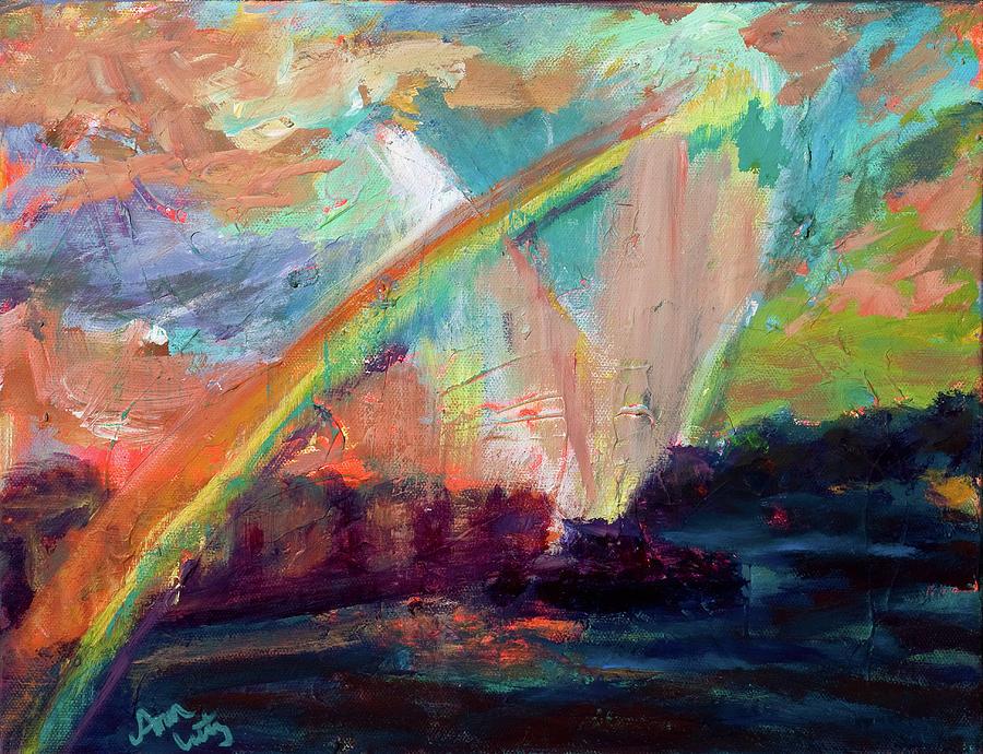 Rainbow Delight Painting