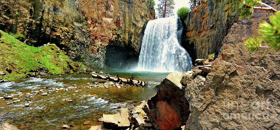 California Photograph - Rainbow Falls 2 by Joe Lach