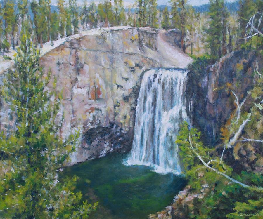 Rainbow Falls, Devil's Postpile NM by Kerima Swain