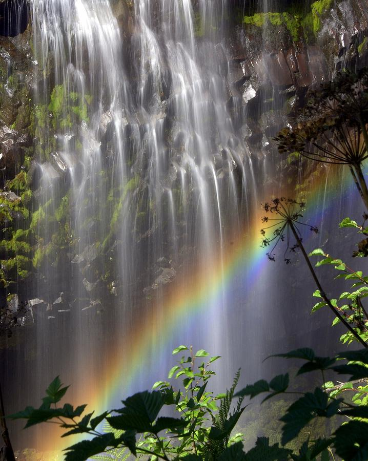 Waterfall Photograph - Rainbow Falls by Marty Koch