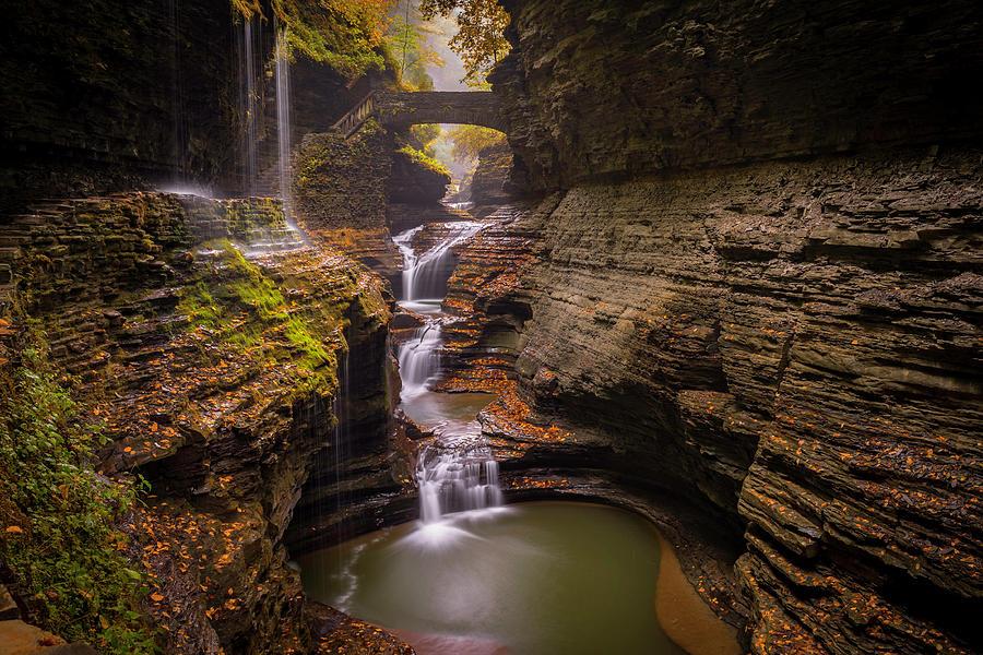 Alexandria Photograph - Rainbow Falls by Michael Donahue