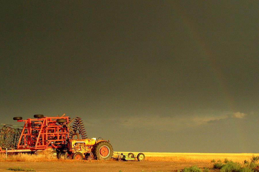 Rainbow Photograph - Rainbow Harvest.. by Al  Swasey