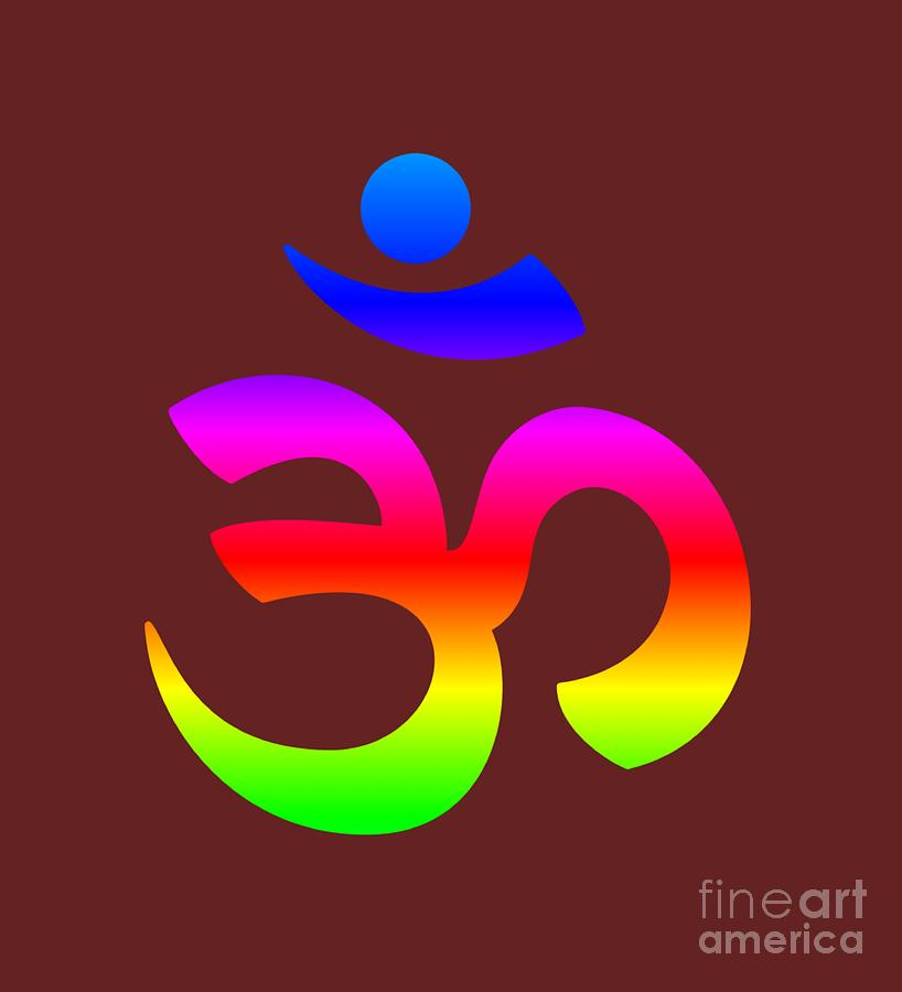 Rainbow Hinduism Symbol