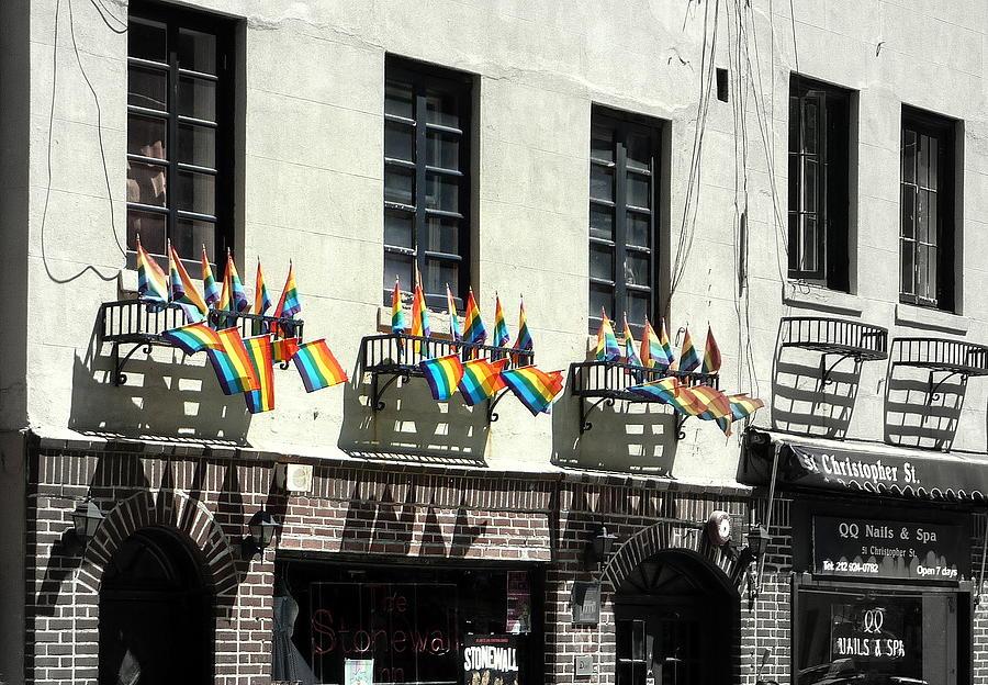 New York City Photograph - Rainbow History by Dan Stone