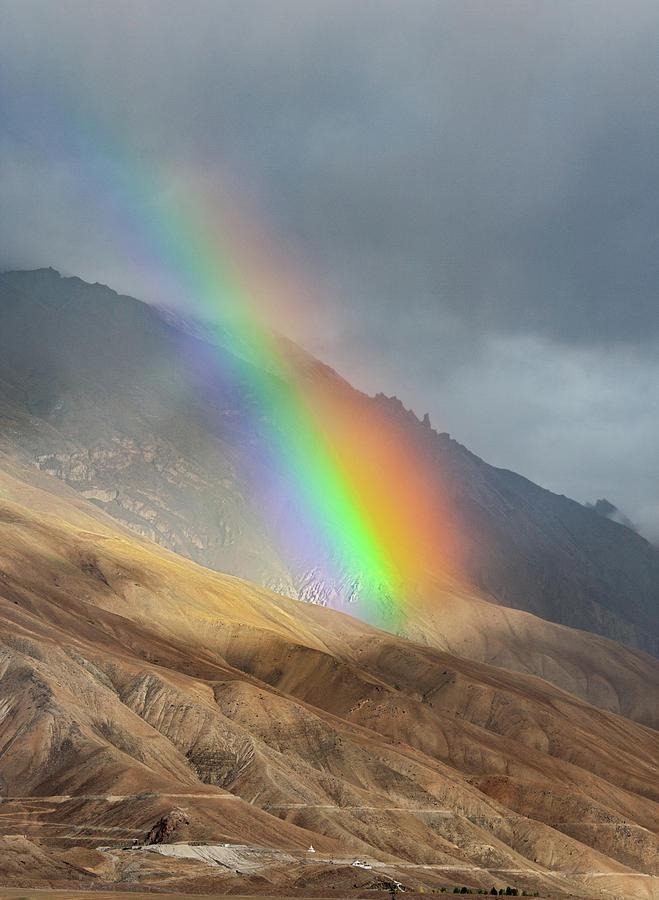 Rainbow, Kaza, 2008 by Hitendra SINKAR