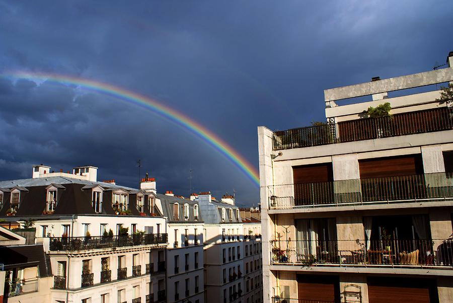Cities Photograph - Rainbow by Milan Mirkovic