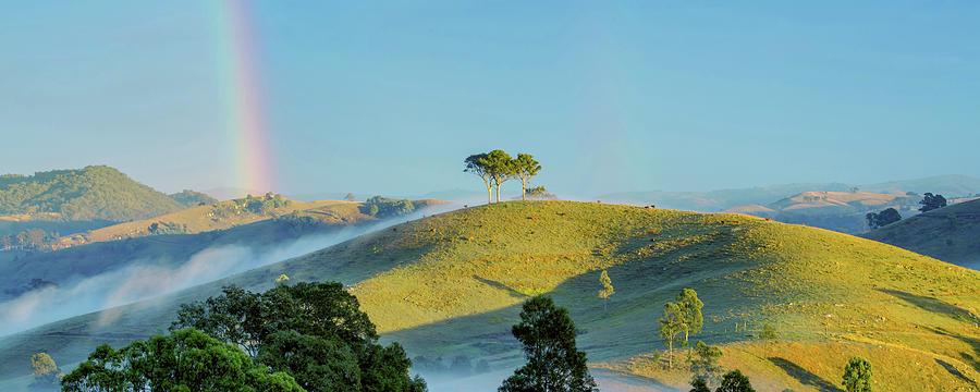 Nsw Photograph - Rainbow Mountain by Az Jackson