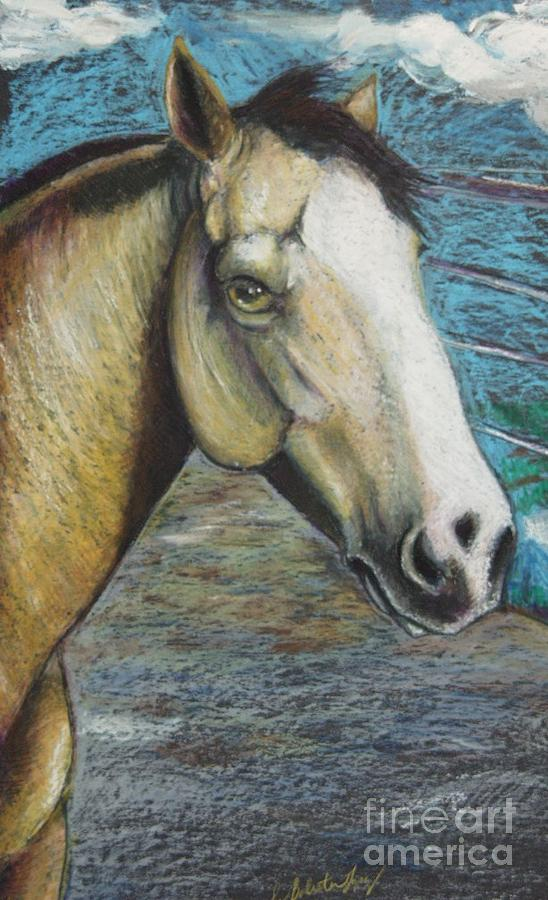 Equine Painting - Rainbow My Girl by Jamey Balester