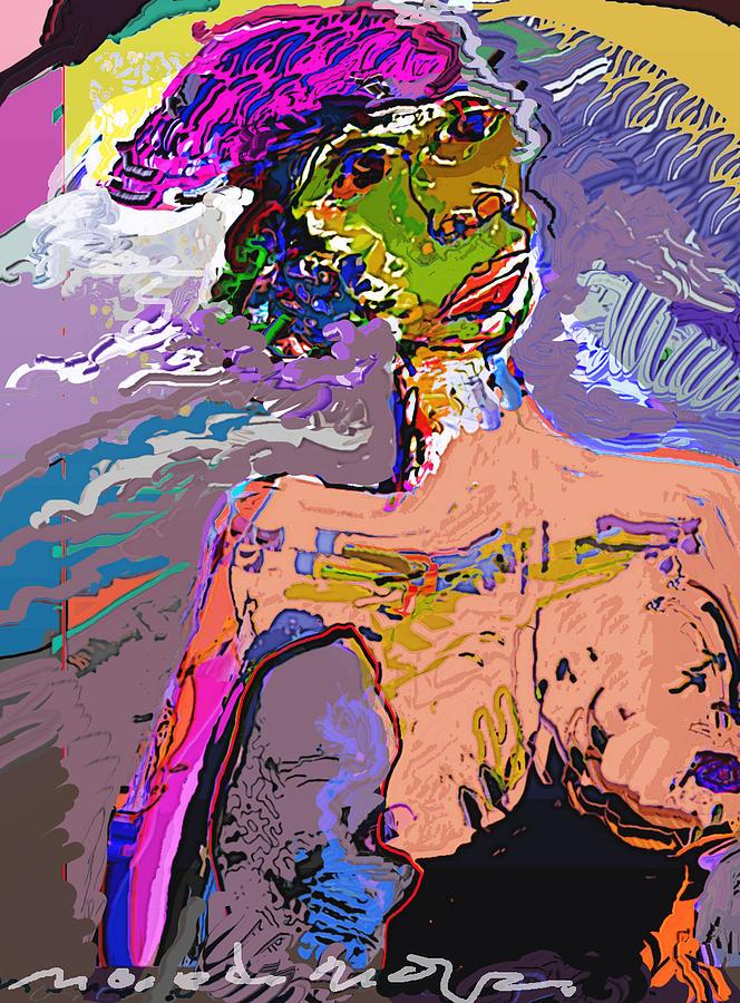 Rainbow Mixed Media by Noredin Morgan