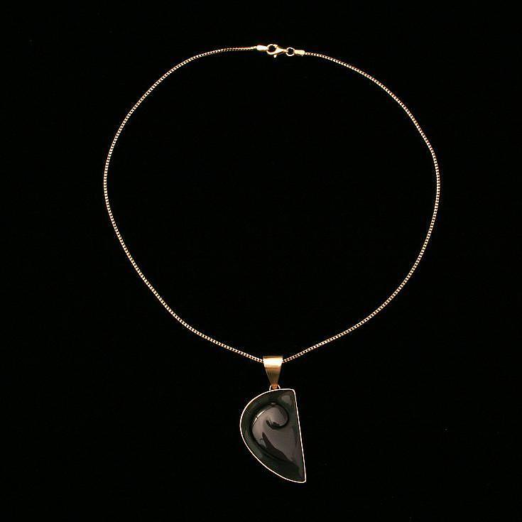 Rainbow Obsidian Necklace Jewelry by Linda Bickel
