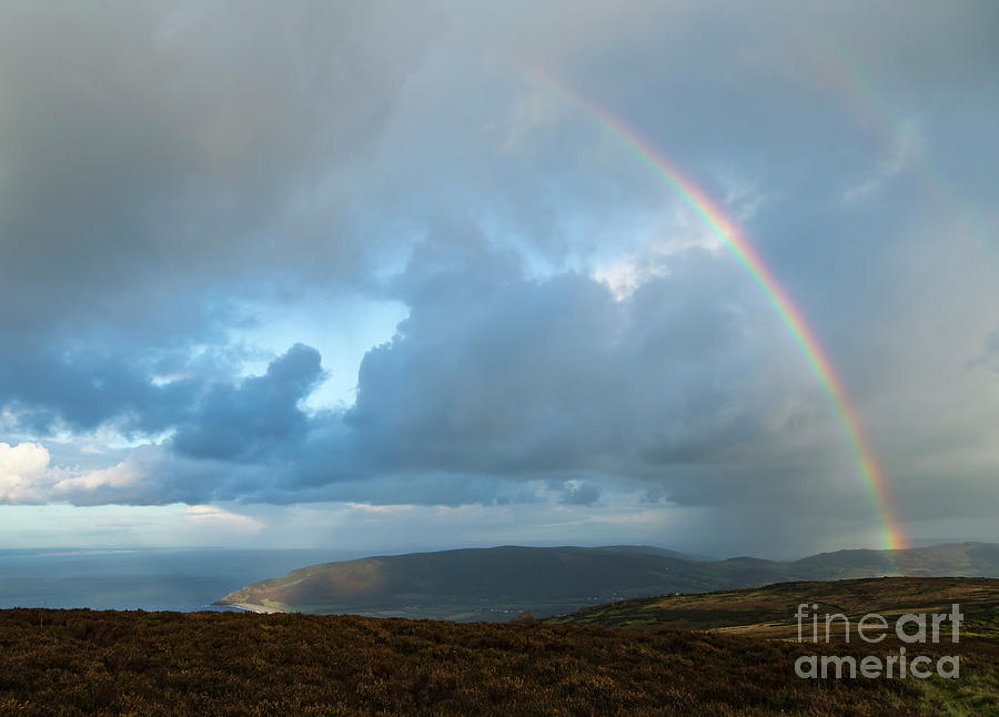 Rainbow over Porlock Hill by Andy Myatt
