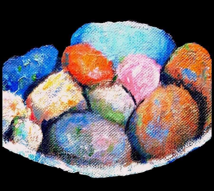 Rainbow Pebbles by VIVA Anderson