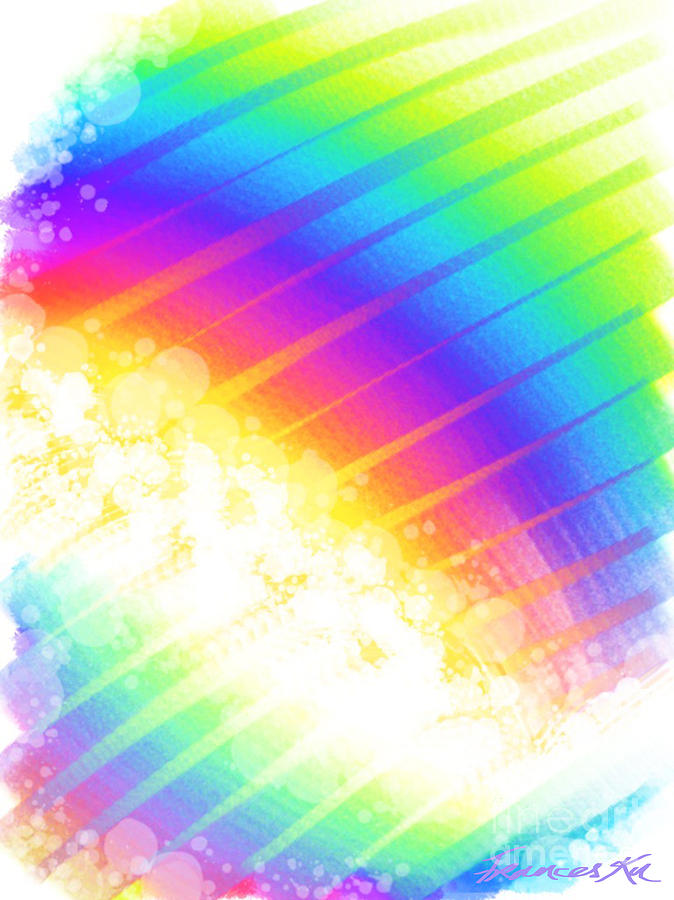 Rainbow Showers by Frances Ku