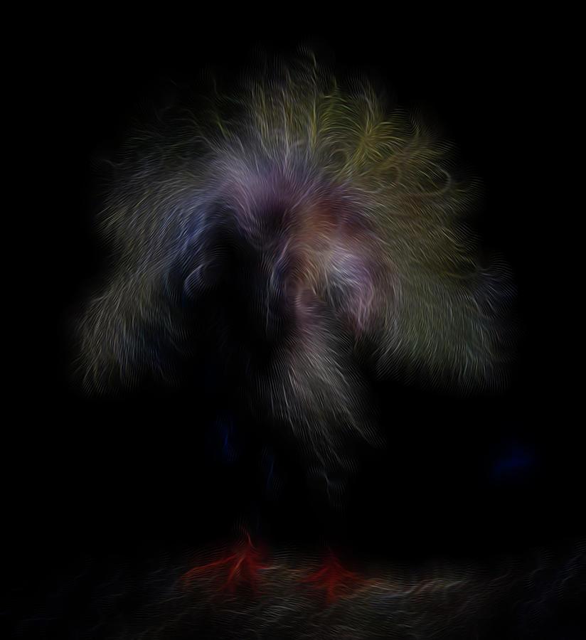 Abstract Digital Art - Rainbow Spirit by William Horden