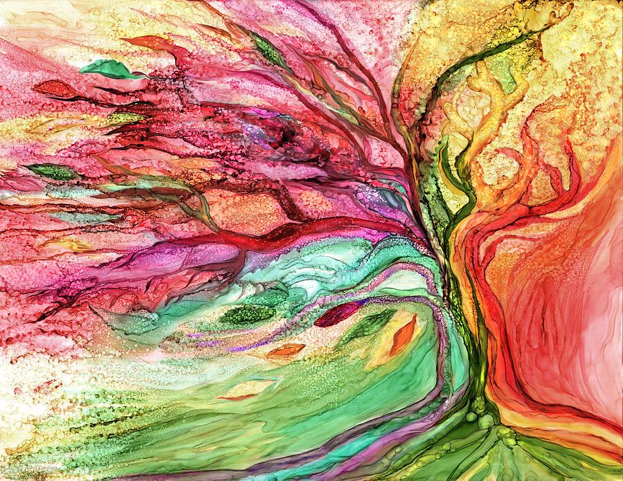 Rainbow Tree by Carol Cavalaris