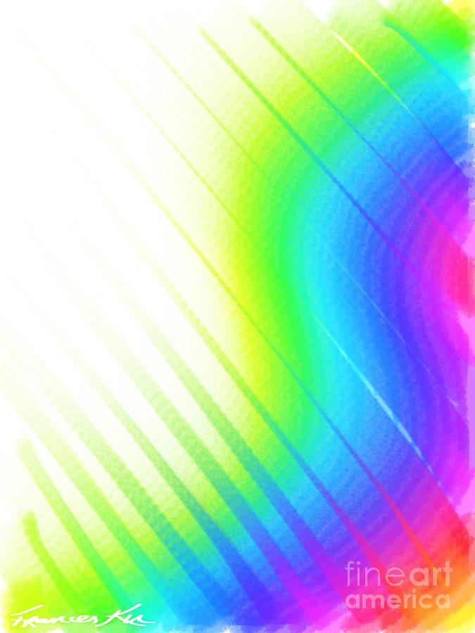 Rainbow's Edge by Frances Ku