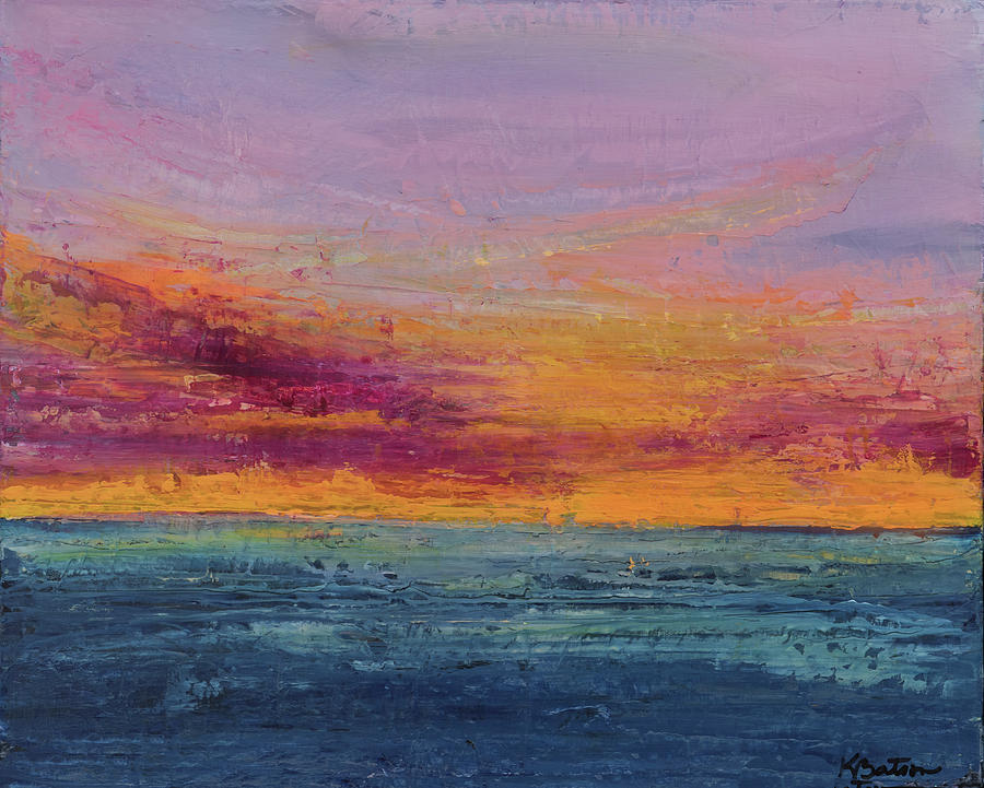 Canvas Print Painting - Rainbows Of Life by K Batson Art