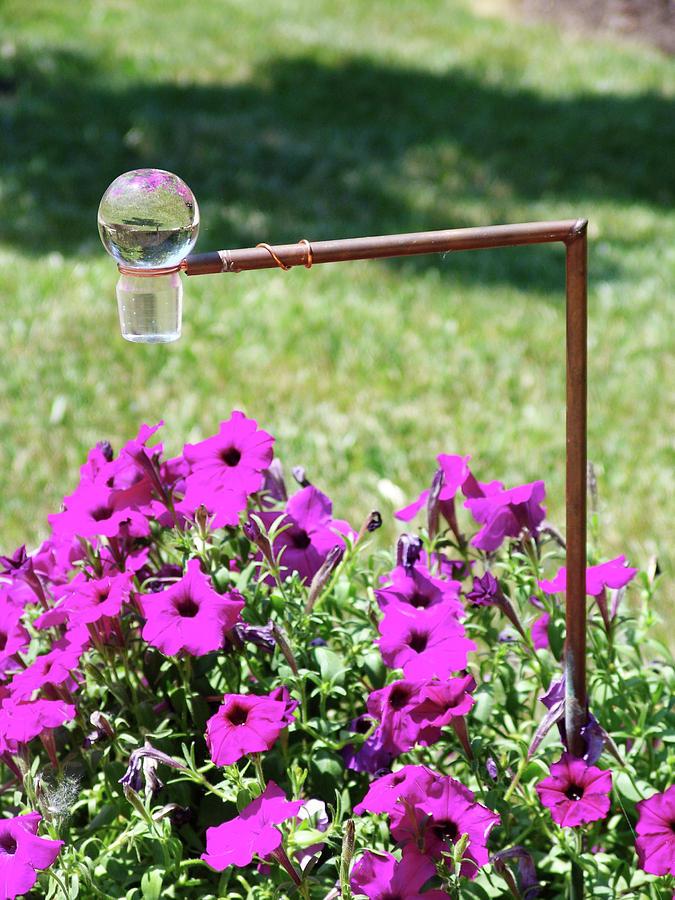 Garden Sculpture - Raindrop by Kevin Callahan