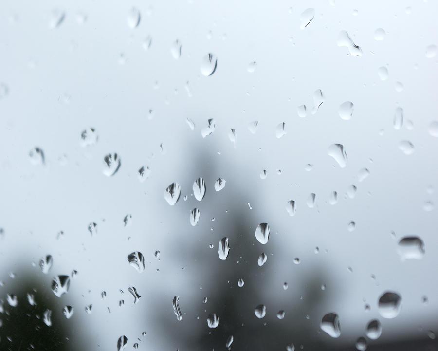 Raindrops Photograph - Raindrops by Tony Serzin
