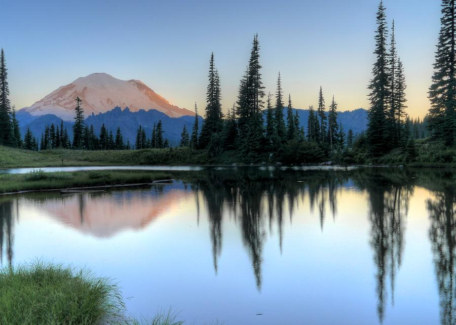 Rainier from Tipsoo by Peter Mooyman