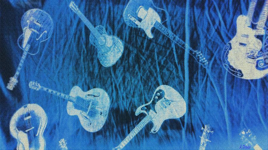 Raining Guitars by Alec Drake