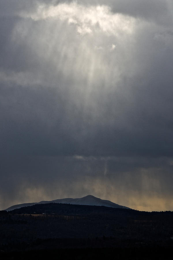 Raining Rays Photograph