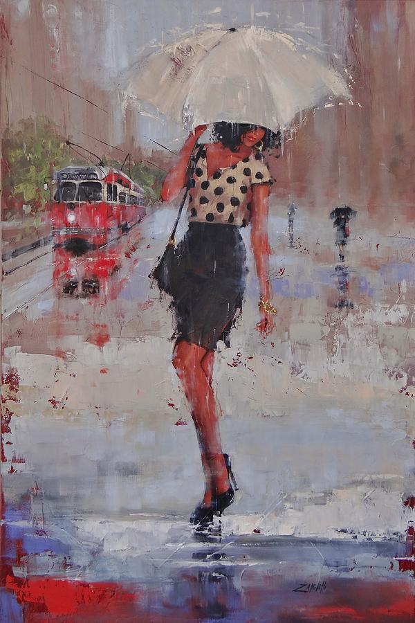 Rainy Day Blues by Laura Lee Zanghetti