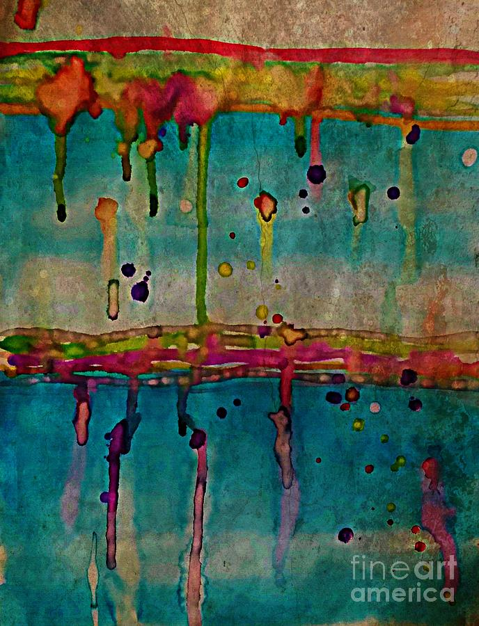 Rainy Day Painting - Rainy Day by Diamante Lavendar