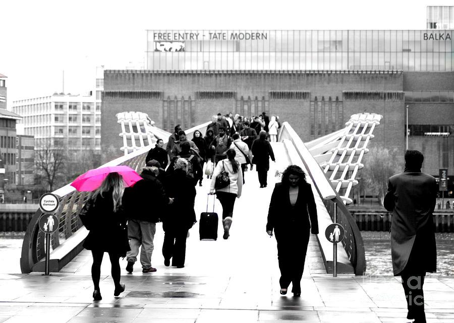 London Photograph - Rainy Days Amd Mondays by Mark Tull