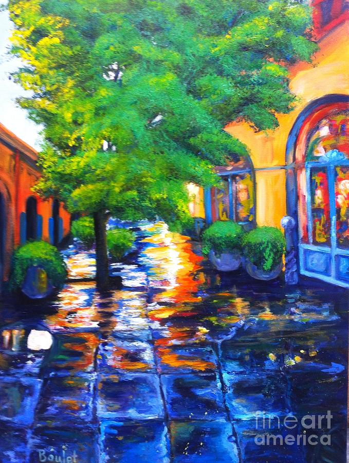 Rainy Dutch Alley by Beverly Boulet