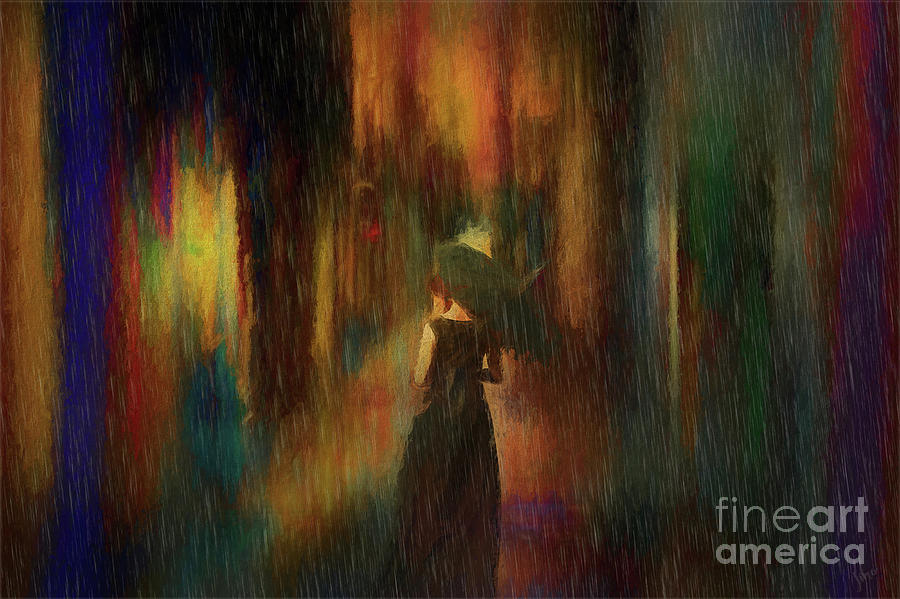 Rainy Evening by Jim Hatch