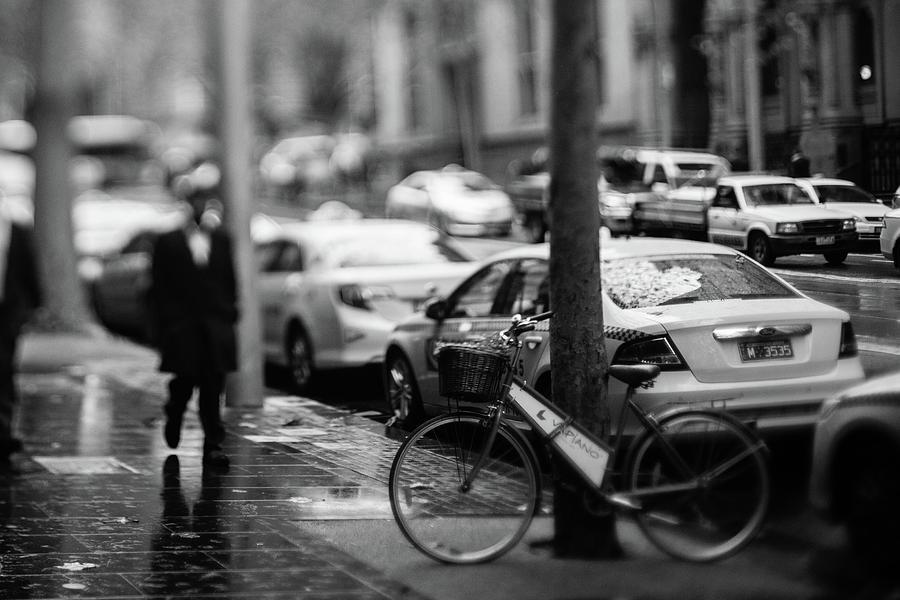 Australia Photograph - Rainy Melbourne by Daniel Lih