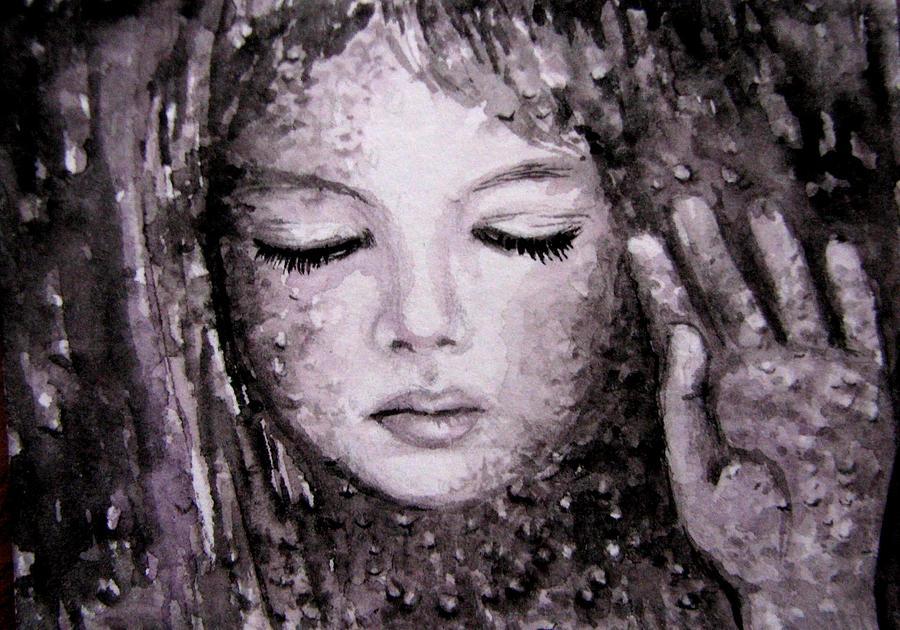 Rain Painting - RainyFantasy by Natalja Picugina