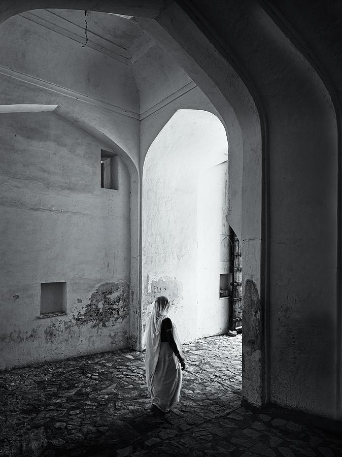 Rajastani Woman Photograph