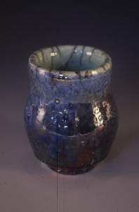 Raku Ceramic Art - Raku Vase by Megan Burns